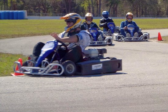 Starke, Флорида: Family Karting Every First Saturday!