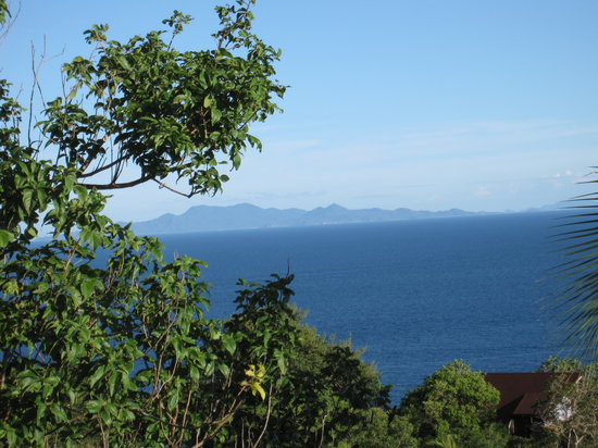 Bohemia Resort: View over Koh Panghan