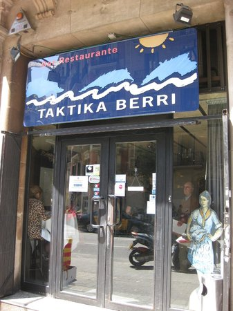 Photo of Mediterranean Restaurant Restaurante Taktika Berri at Valencia, 169, Barcelona 08011, Spain