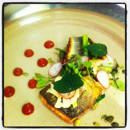 The Old House Restaurant: Seabass