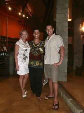 Loharano Hotel: Nella hall con Gahel