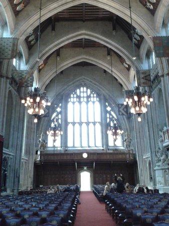 Guildhall: desde el fondo del Gran salon