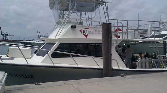 South Beach Divers Dive Boat