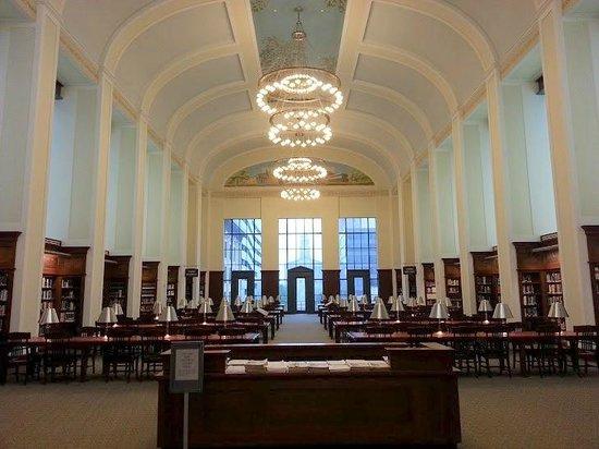 Nashville Public Library: Grand Reading Room Third Floor