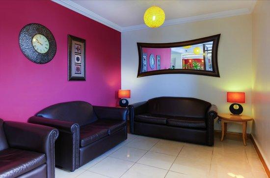 Comfort Inn Arundel: Lounge area