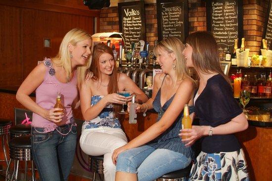 Revolution Gastro Bar: Girls Having Cocktail @ Revolution Bar, Waterford
