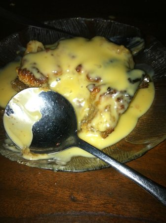 Crabdaddy's Seafood Grill : Best Bread Pudding Ever Created