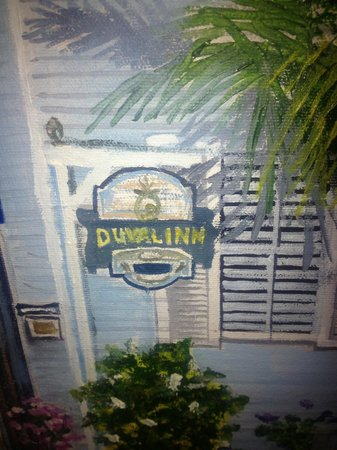 The Duval Inn sign