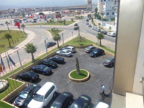 Omeya Suites Hotel : vue