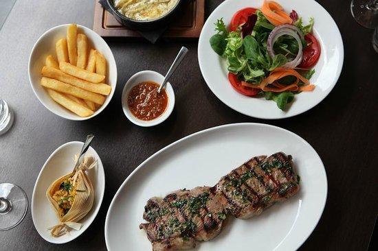 The Bull Steak Expert: Yummy Steak, Humitas & Grilled Provoleta