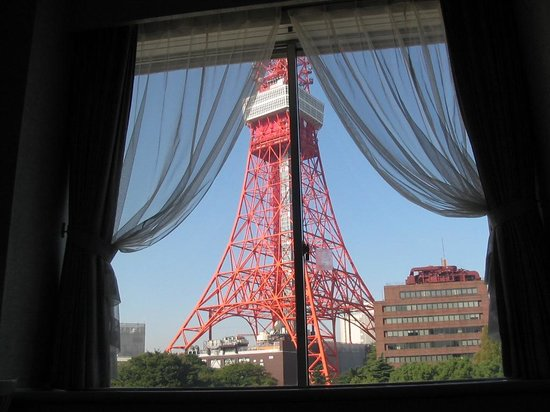 Tokyo Prince Hotel: View from my room