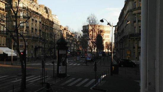 InterContinental Paris-Avenue Marceau: Arc view from the windows