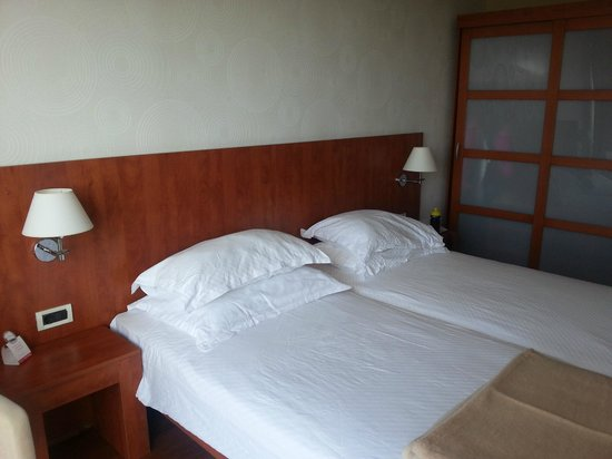 Sol Umag: Main bedroom of the suite