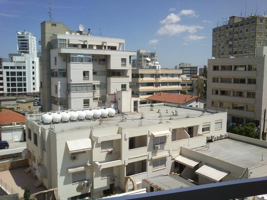 Cleopatra Hotel: View from the room on third floor