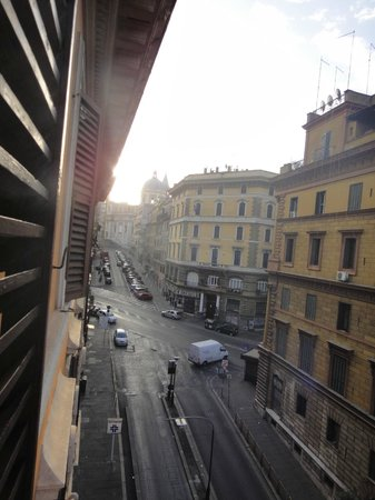 Hotel Canova: view from room