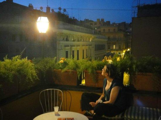 Hotel Canova : rooftop terrace