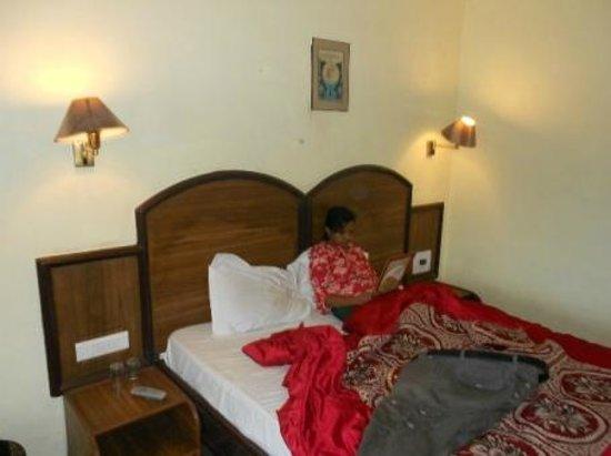Hotel Khems: living room