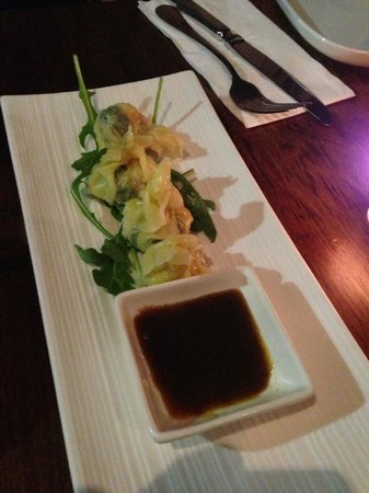 The Sardine Room: Shrimp Wantons