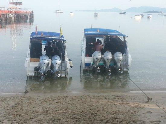 Bophut, Thaïlande : The boats ay Koh Samui