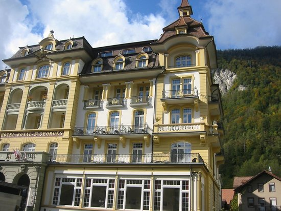 Hotel Royal St. Georges Interlaken - MGallery Collection: front of hotel