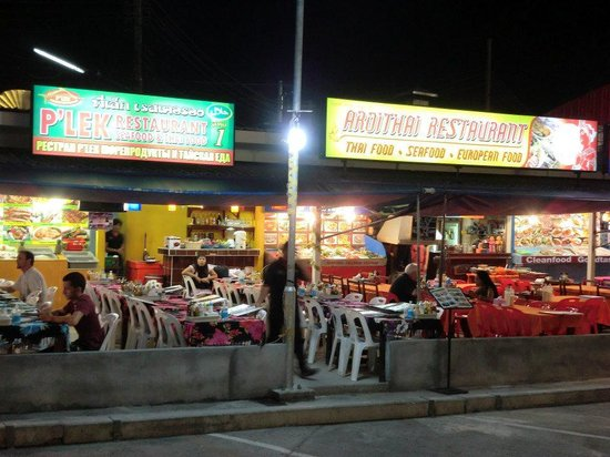 Seeka Boutique Resort: Eateries and nighlife along Thanon NaNai