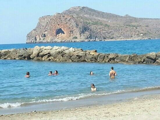 Agia Marina Beach: Agia Marina