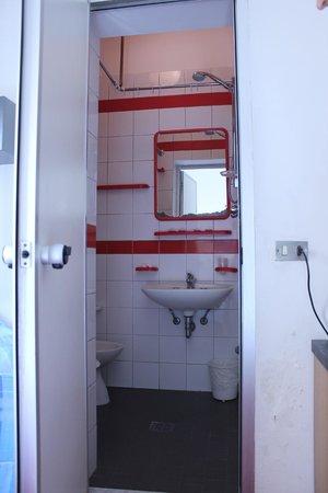 Hotel Niagara Rimini : душ-туалет