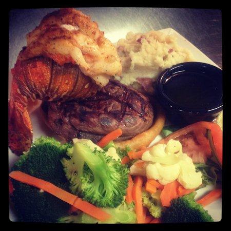 Gimaro Seafood & Steakhouse: Surf and Turf