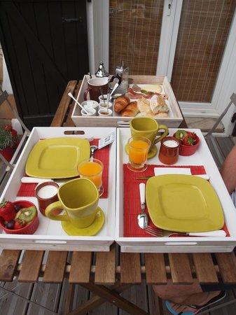 Atlantikoa: petit déjeuner