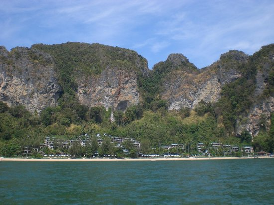 Centara Grand Beach Resort & Villas Krabi: vista dalla barca