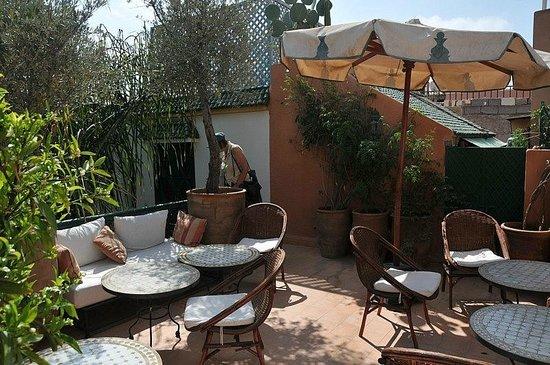 Riad Celia : Roof terrace
