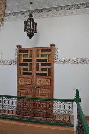 Riad Celia : Door of the suite