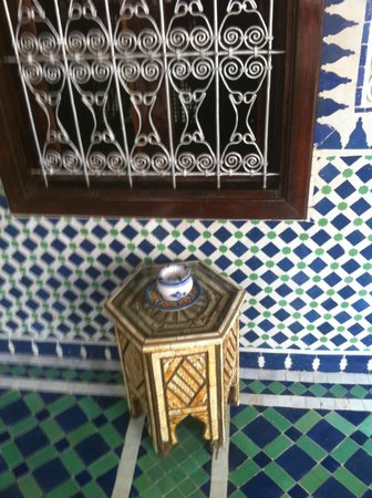 Riad El Yacout: small example of magnificent interior furnishings