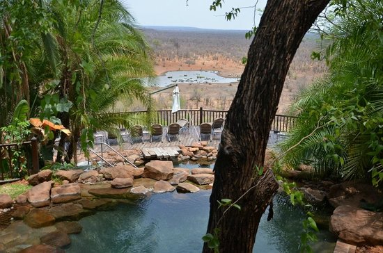 Victoria Falls Safari Lodge: Swimming Pool Area