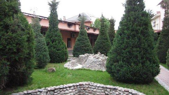 Rovshan-Tashkent Hotel : Il cortile