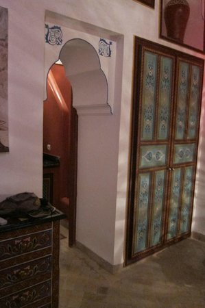 Riad Tamarrakecht: Bab Ighli room, second floor