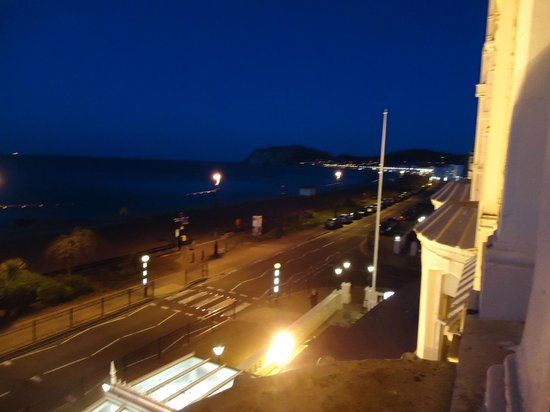 The Imperial Hotel: Looking towards Little Orme.