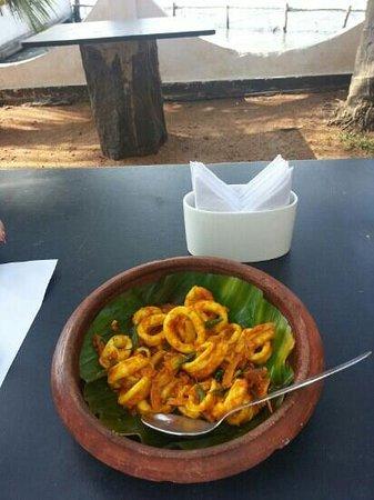 Fort House Restaurant: calamari ... best ever