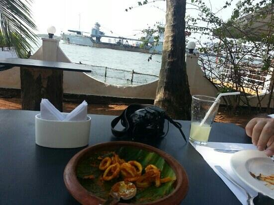 Fort House Restaurant : hidden sanctuary. . calamarI -awesome