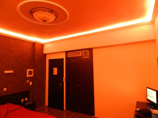 Seleykos Palace: nice touch with room lighting