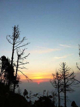 Acatenango Volcano: amanecer