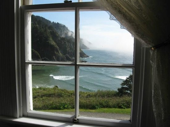 Heceta Head Lighthouse Bed and Breakfast: View from our room