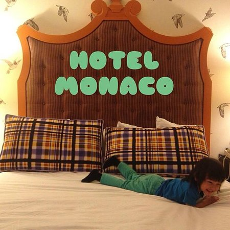 Kimpton Hotel Monaco Portland: This is how much our kids loved Hotel Monaco!