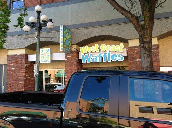 West Coast Waffles: Cool Signage