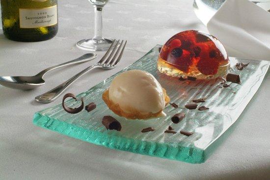 Arundell Arms Hotel Restaurant: Dessert