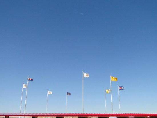 Four Corners Monument: Ring of Flags