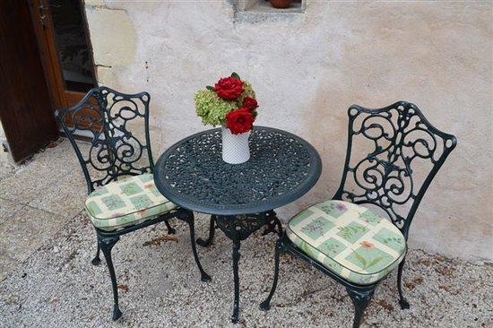 Le Moulin de Lusseau : Private terrace