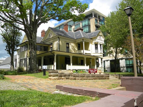 Thomas Wolfe Memorial: The Home