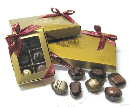 Shaw's: Make your own box with our artisanal chocolate varieties