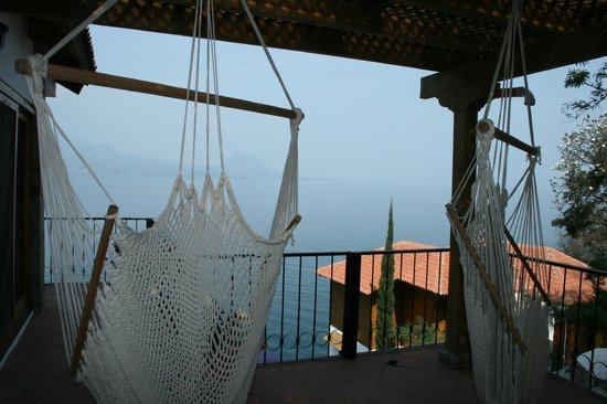 Atitlan Villas: One of the lovely balconies to relax on